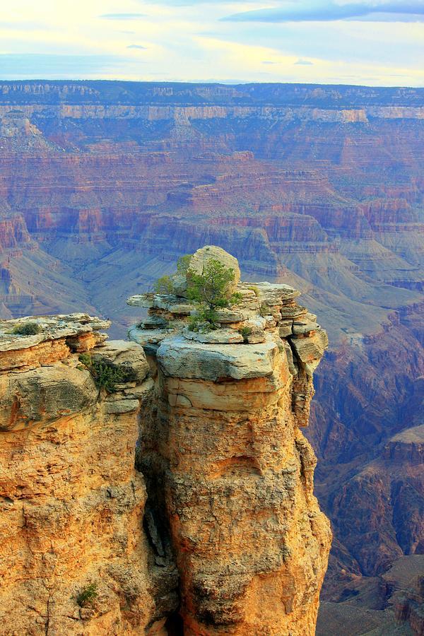 Landscapes Photograph - The Canyon Balanced Rock by Douglas Miller