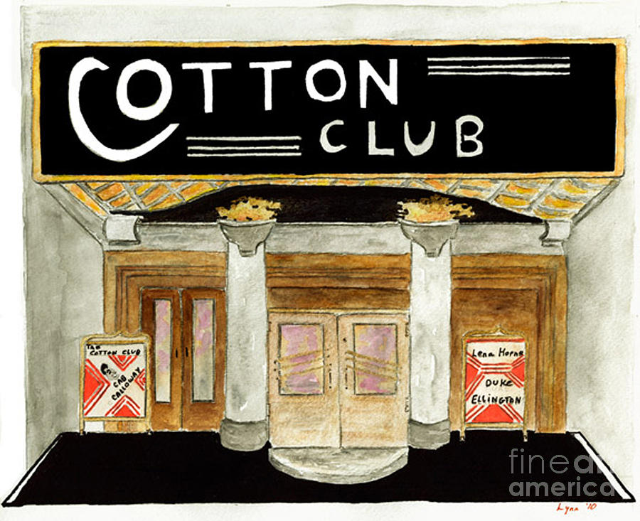 Cotton Club Painting - The Cotton Club by AFineLyne