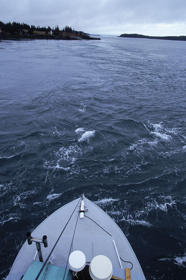 The Currents Of The Old Sow Whirlpool