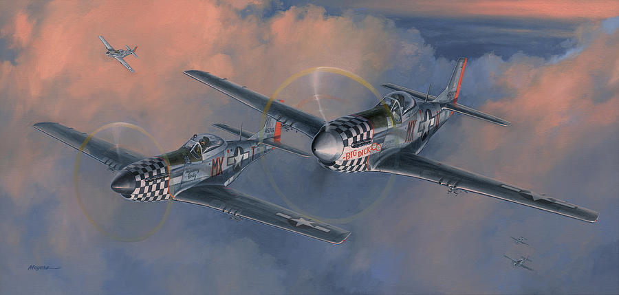 World War Ii Painting - The Duxford Boys by Wade Meyers
