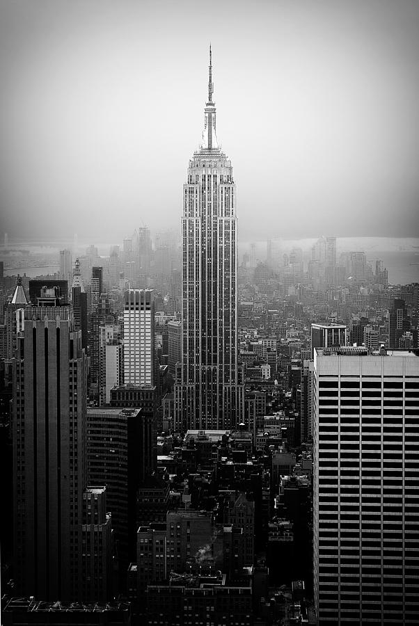 Empire State Building Photograph - The Empire State Building In New York City by Ilker Goksen