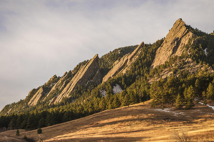 Flatirons Photograph - The Flatirons 2 by Aaron Spong