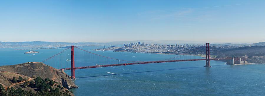 San Francisco Photograph - The Golden Gate Bridge by Twenty Two North Photography