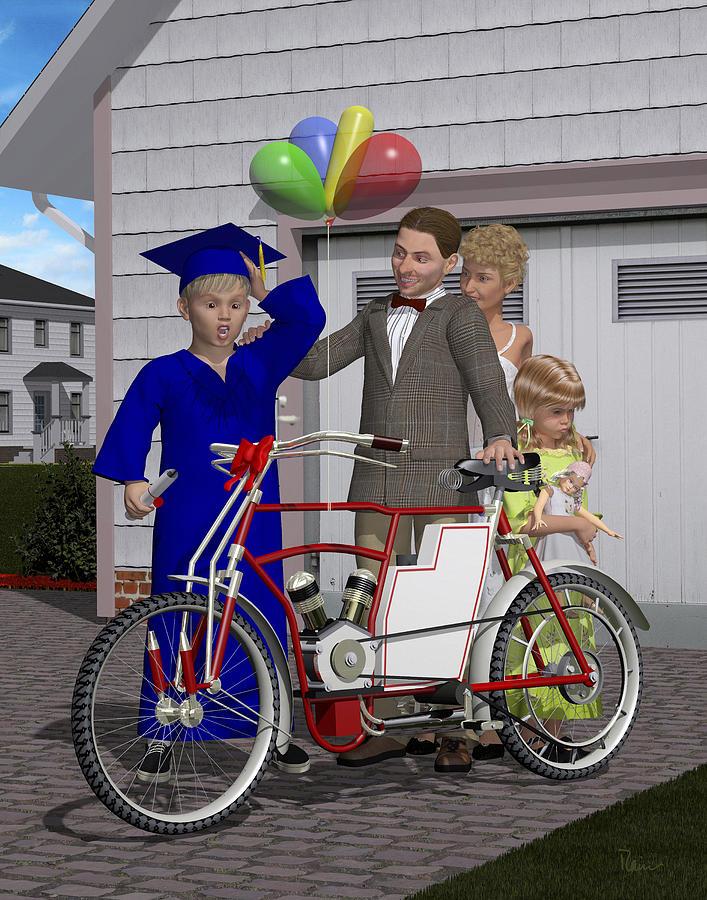 The Graduation Present by Rainer Freytag