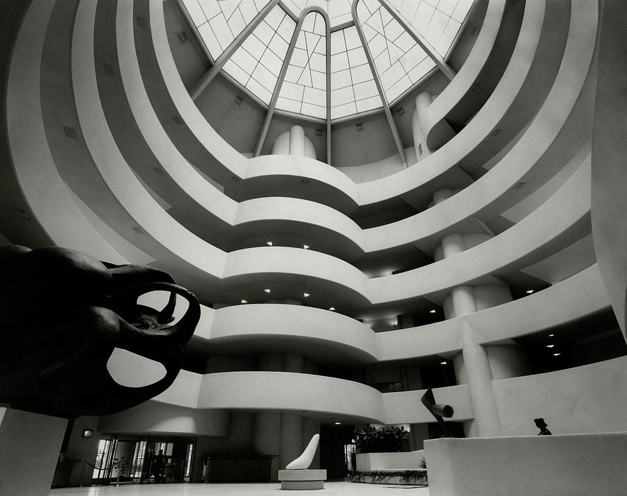 The Guggenheim Museum In New York City Photograph by Eveyln Hofer