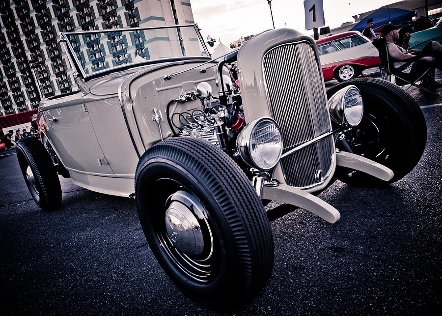 Hot Rod Photograph - The Hot Rod by Merrick Imagery