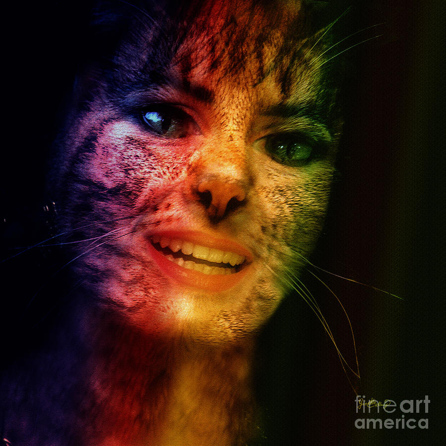 The Last Of The Cat Women Photograph by Ginette Callaway