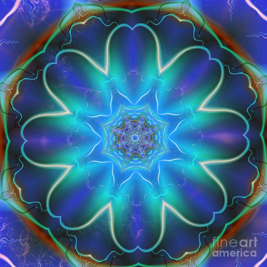 The Light Flower Digital Art