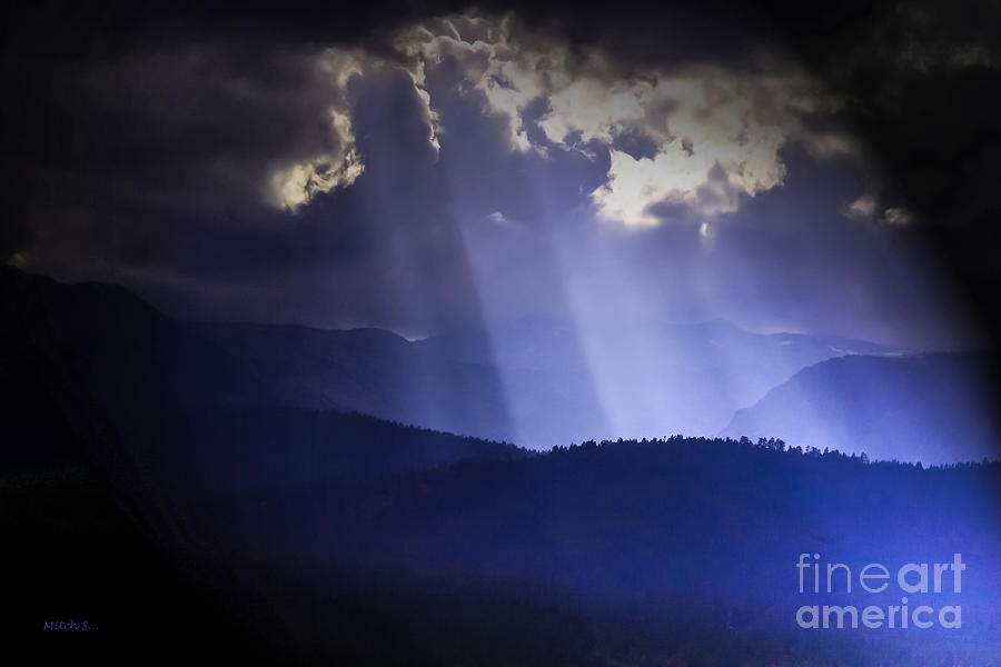 The Light Photograph - The Light by Mitch Shindelbower