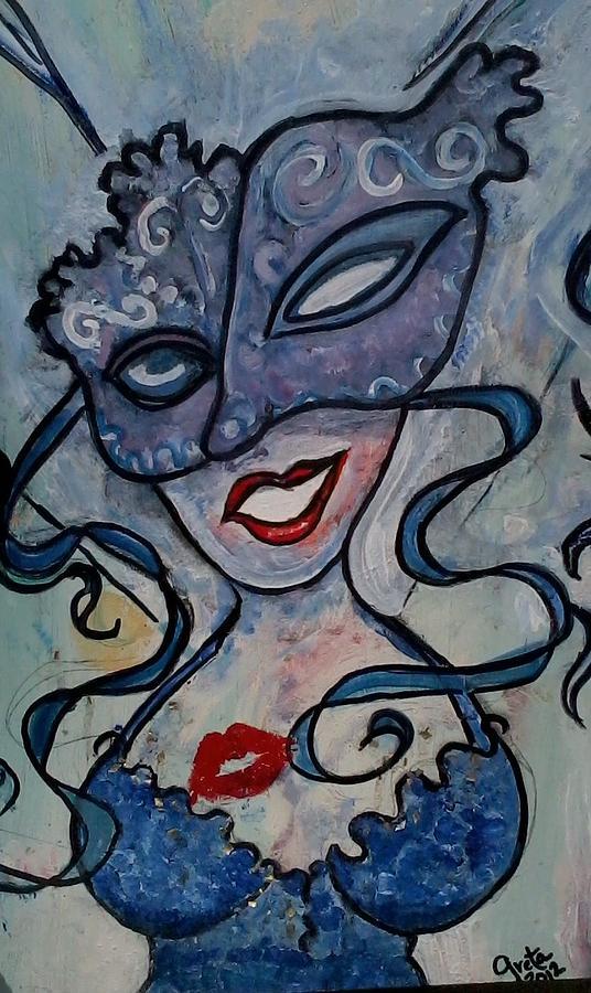 Blue Painting - the LOOK by Greta Redzko