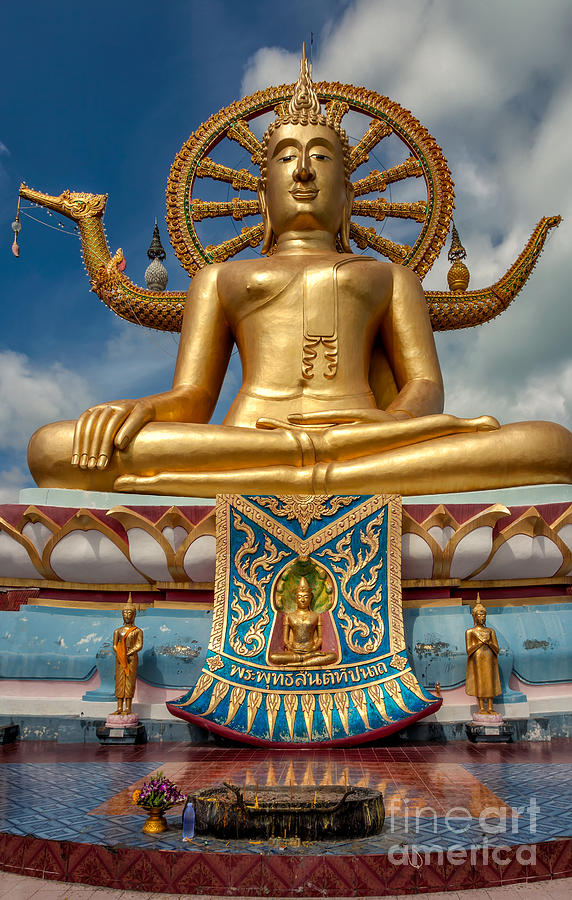 Hdr Photograph - The Lord Buddha by Adrian Evans