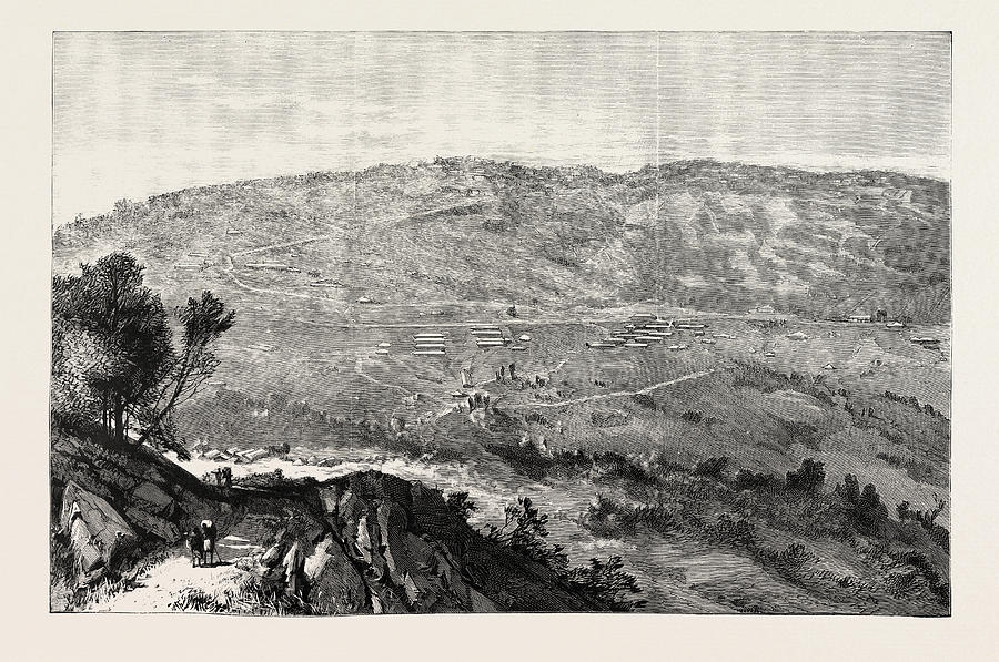 Military Drawing - The Military Expedition To Manipur Eastern Frontier by Indian School