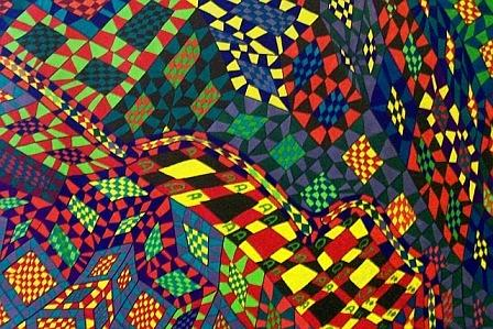 Kate Upton Drawing - The Mind Kaleidoscope 6 by Jonathon Hansen