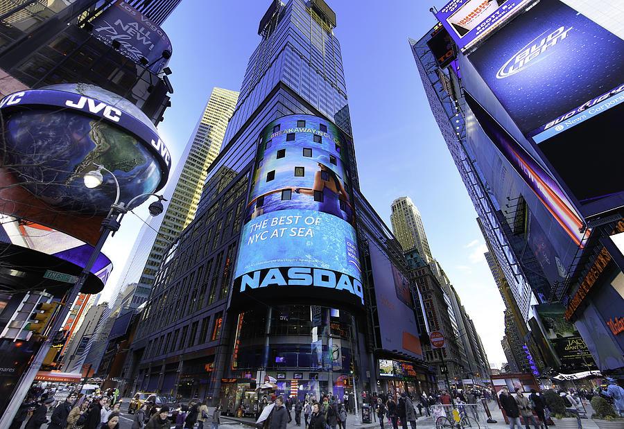 The Nasdaq Stock Market Digital Art by E Osmanoglu