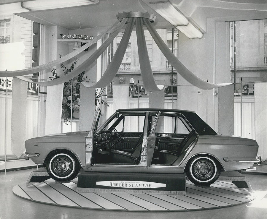 Retro Photograph - The New Humber Scepter by Retro Images Archive