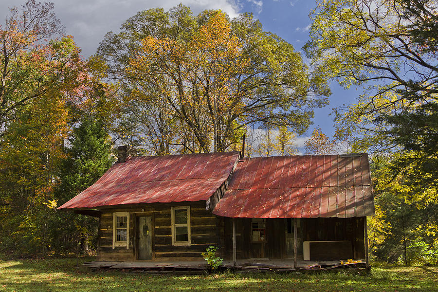 Appalachia Photograph - The Old Homestead by Debra and Dave Vanderlaan