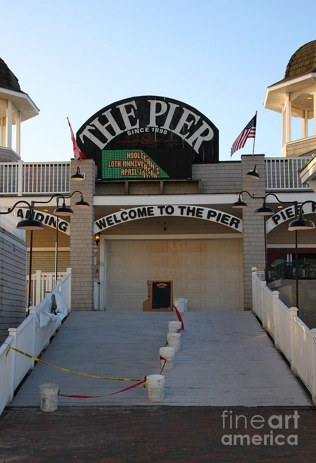 The Pier Photograph - The Pier by Michael Mooney