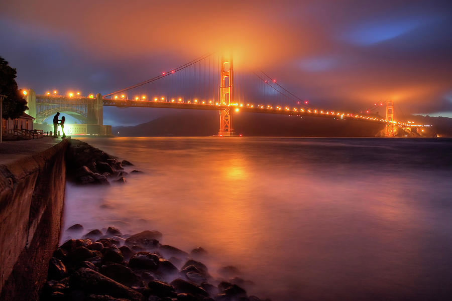 Romance Photograph - The Place Where Romance Starts by William Lee