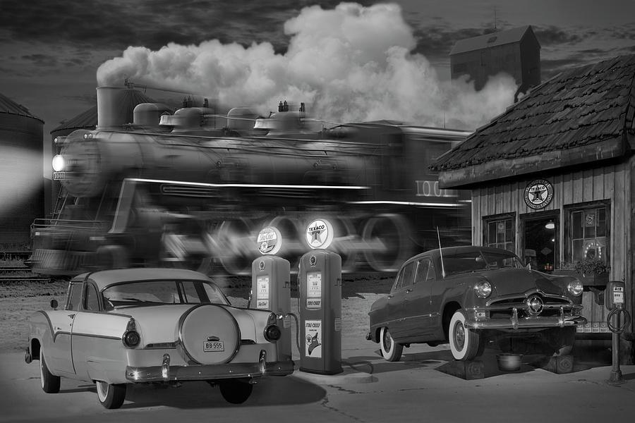 Transportation Photograph - The Pumps by Mike McGlothlen
