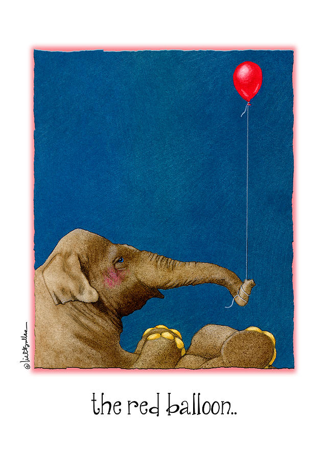 The Red Balloon... Painting