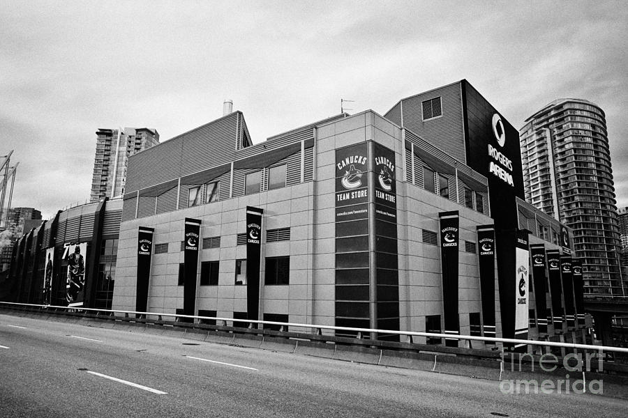 the best attitude 09c0a ce7fb the rogers arena home to the Vancouver Canucks BC Canada by Joe Fox
