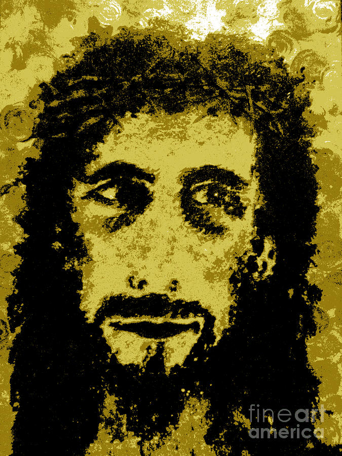 Savior Painting - The Savior by Alys Caviness-Gober