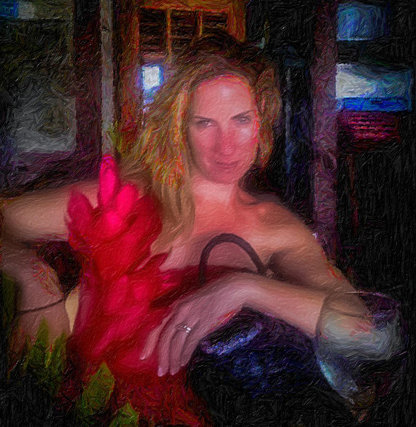 The Scarlet Flower Photograph by Bruce Brooks