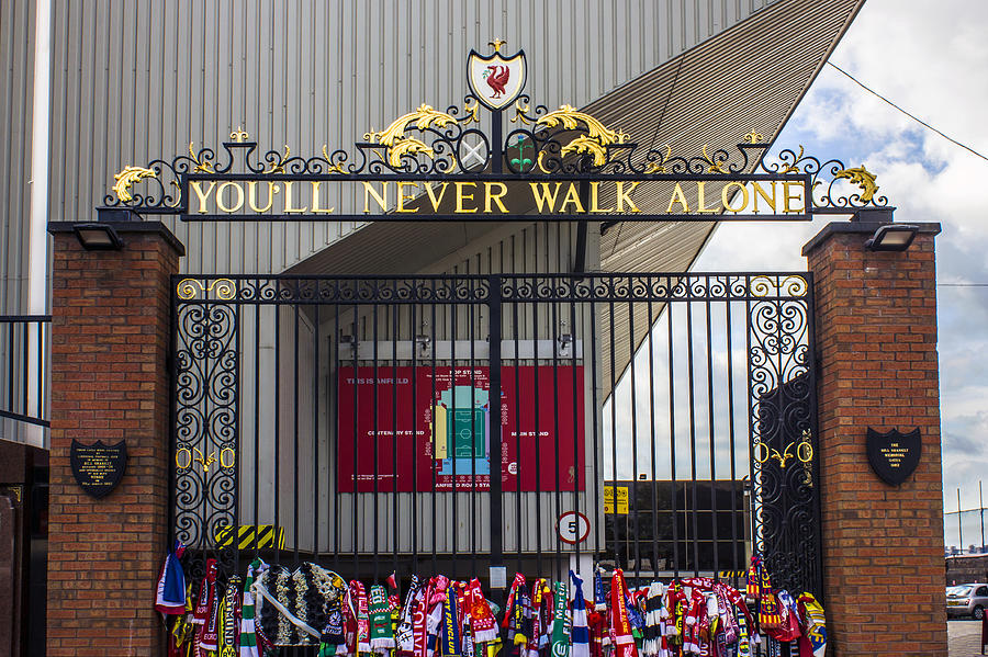The Shankly Gates Photograph By Paul Madden