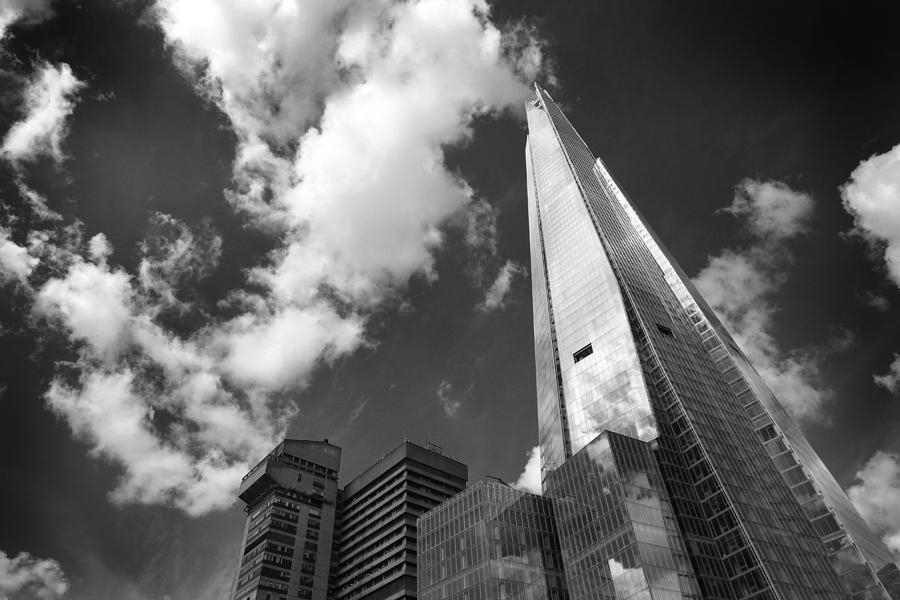 London Photograph - The Shard London by Ed Pettitt