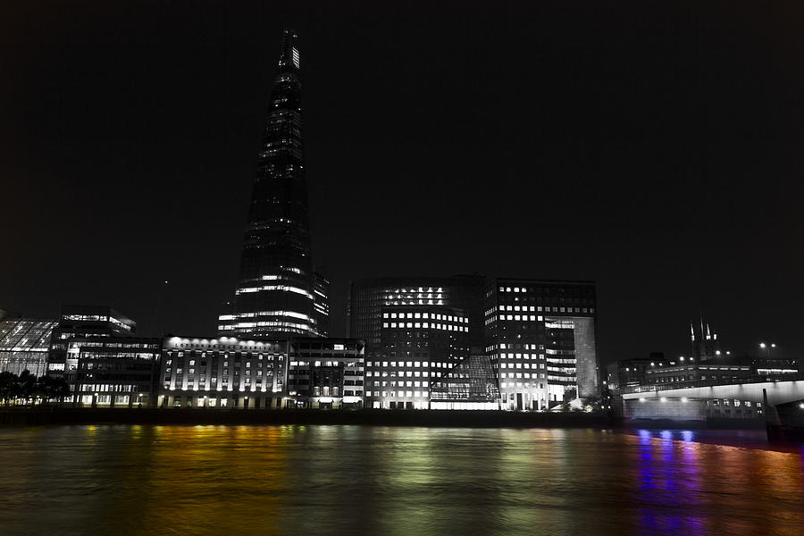 The Shard Photograph - The South Bank London by David Pyatt