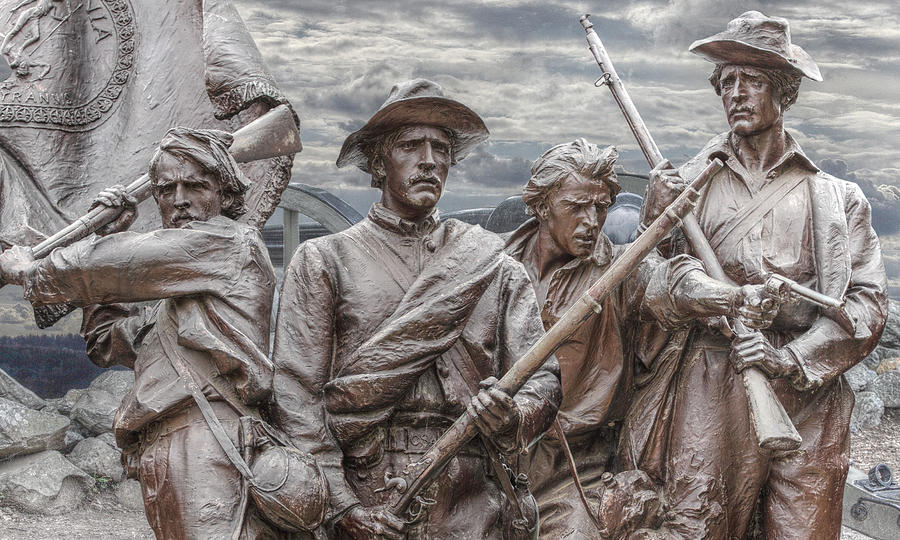Virgina Memorial Digital Art - The South Will Rise Again by Randy Steele