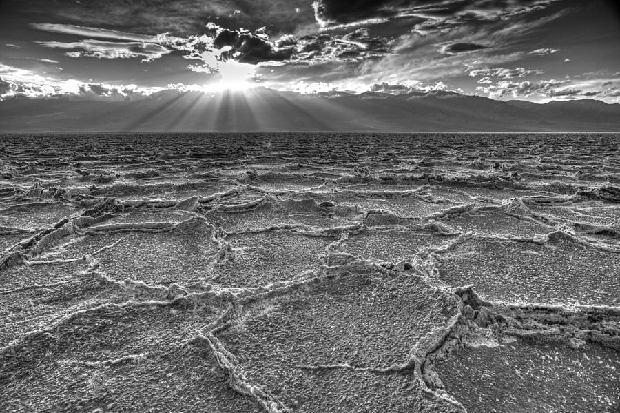 Bad Water Basin Photograph - The Sparkle Of Badwater by Tony Santo