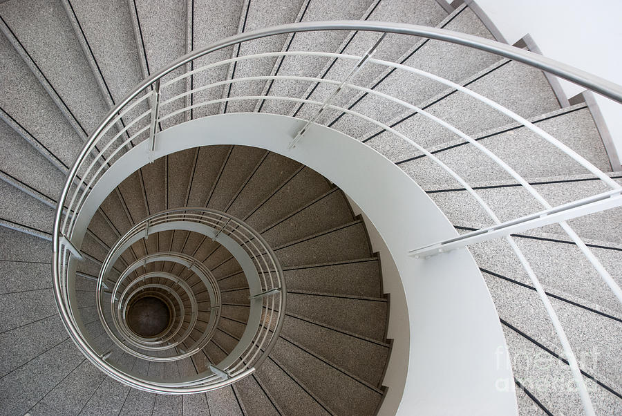Architecture Photograph - The Spiral  by Hannes Cmarits