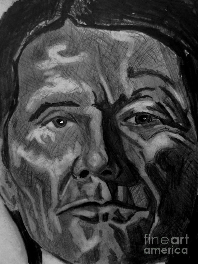 The Stare Drawing by Timothy Fleming