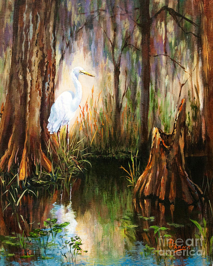 New Orleans Artist Painting - The Surveyor by Dianne Parks