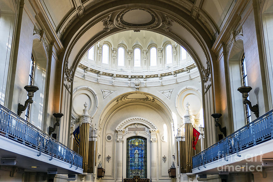 America Photograph - The United States Naval Academy Chapel by John Greim