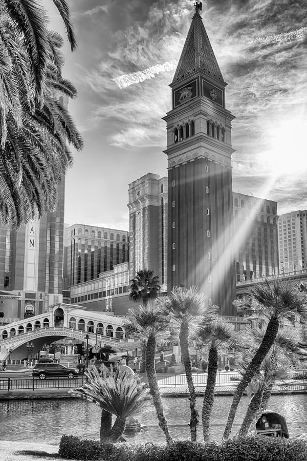 Nature Photograph - The Venetian Resort Hotel Casino by Howard Salmon