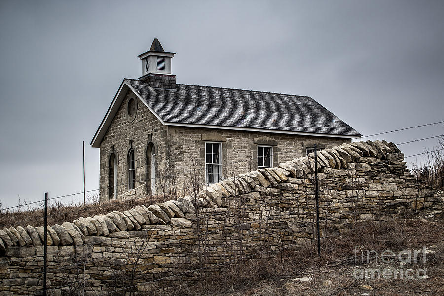 Prairie School Photograph - The Wall  by Jim McCain