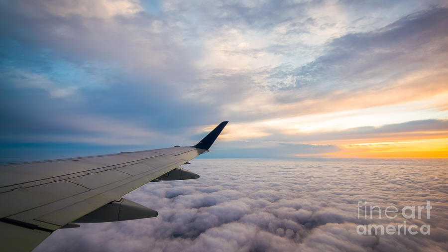Above The Clouds Photograph - The Window Seat by Michael Ver Sprill