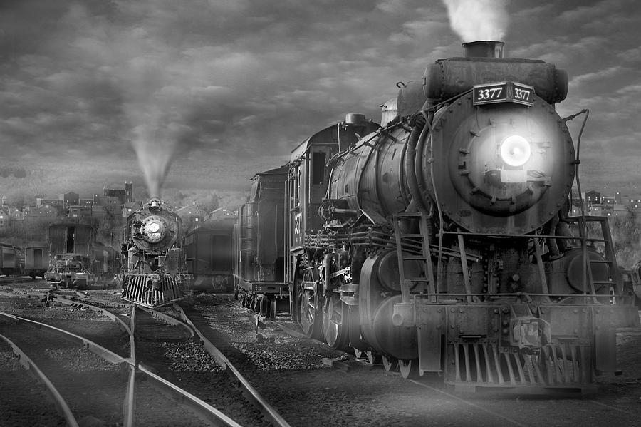 Transportation Photograph - The Yard by Mike McGlothlen