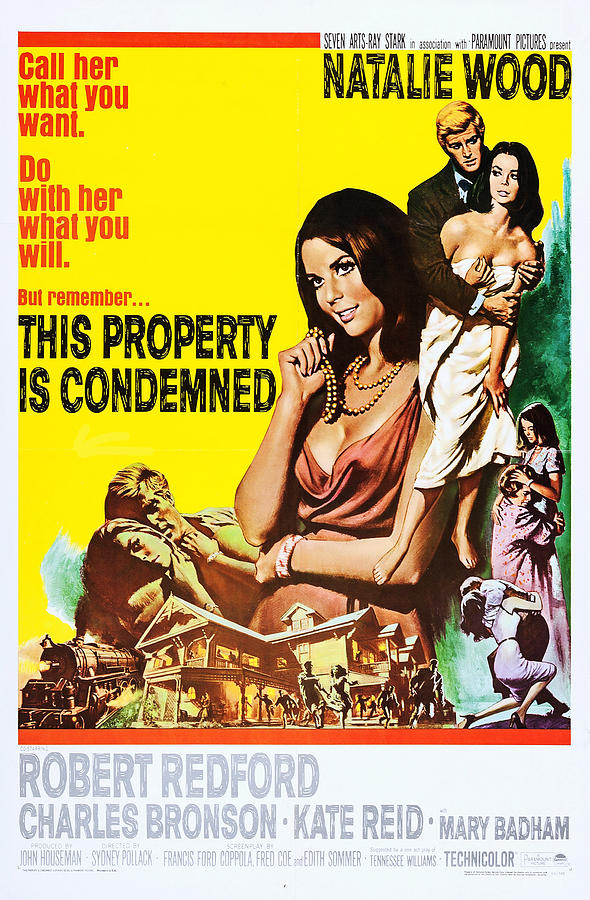 This Property Is Condemned, Us Poster Photograph by Everett