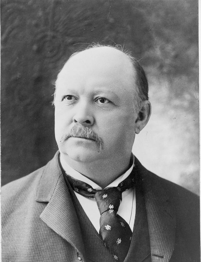 1894 Photograph - Thomas Brackett Reed (1839-1902) by Granger