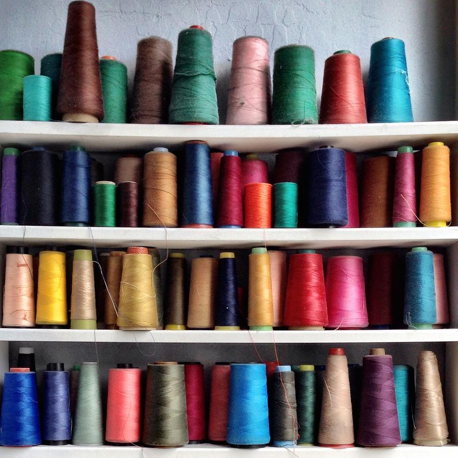 Threads Photograph - Threads by Julie Gebhardt