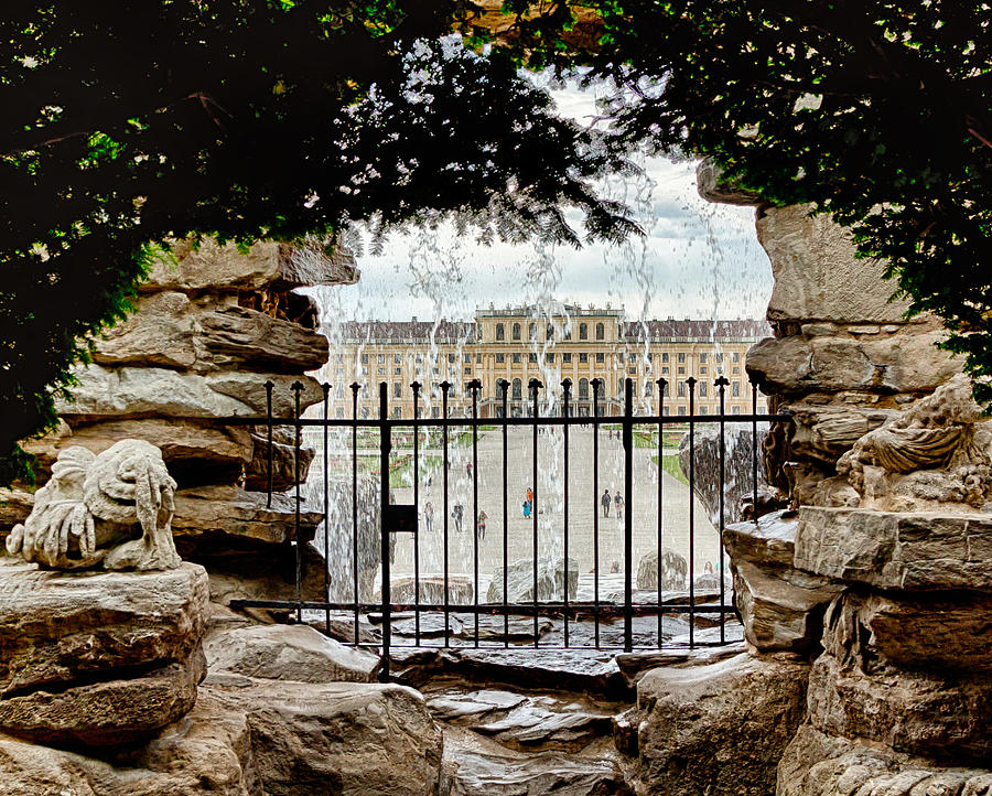 Austria Photograph - Through The Gate by Viacheslav Savitskiy