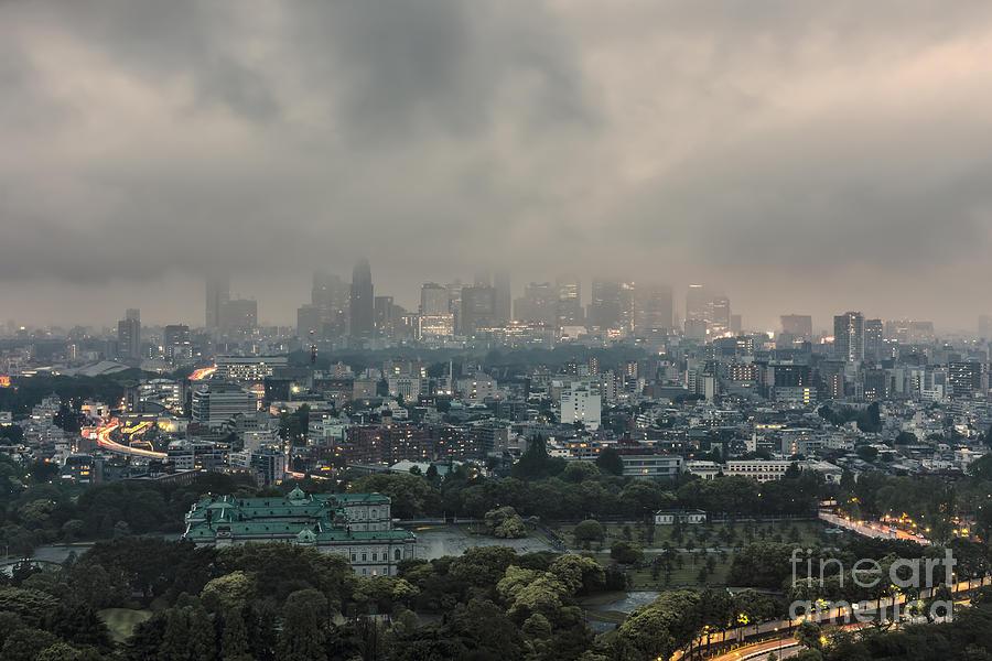 Tokyo Photograph - Tokyo 25 by Tom Uhlenberg