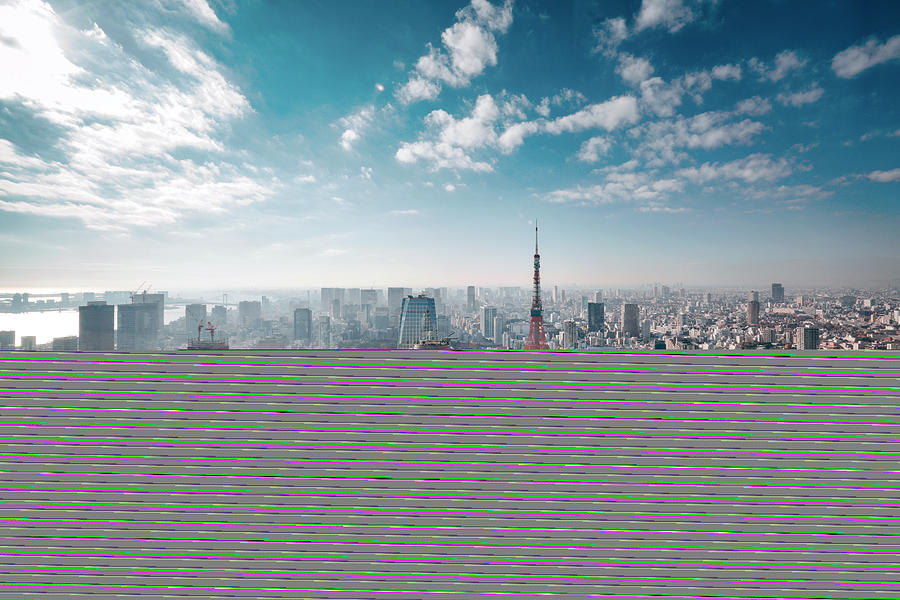Tokyo, Japan Skyline Photograph by Easyturn