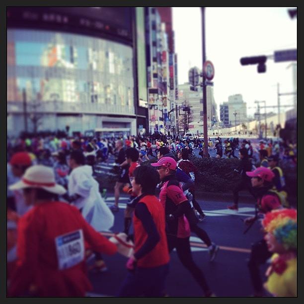 Tokyo Photograph - #tokyo #tokyo Marathon by Tokyo Sanpopo
