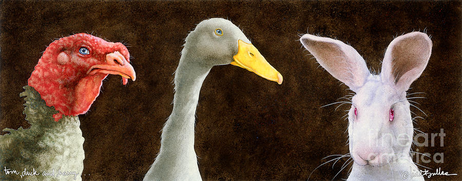 Will Bullas Painting - Tom Duck And Harry... by Will Bullas