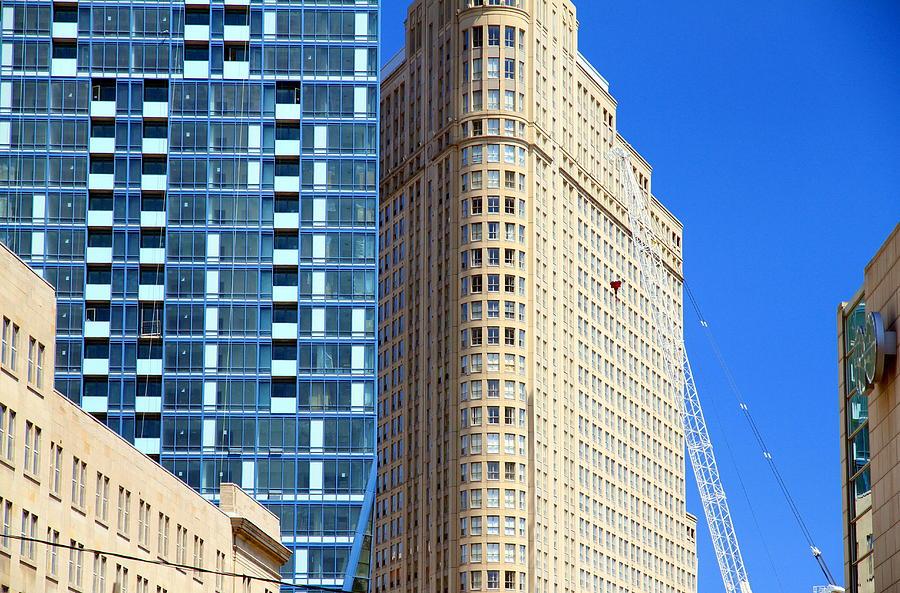 Concrete Photograph - Toronto Architecture by Valentino Visentini