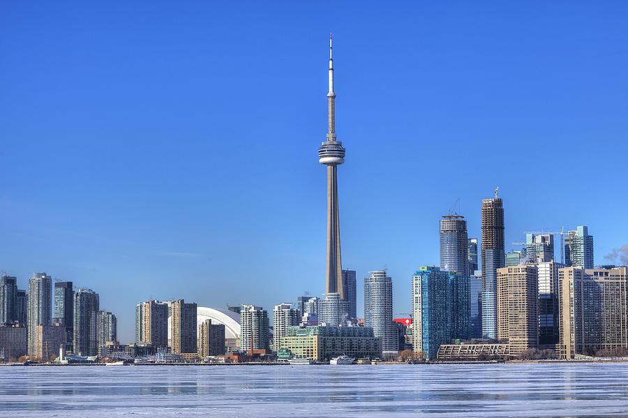 Skyline Photograph - Toronto by Joana Kruse